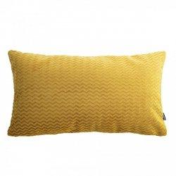 Chevron miodowa poduszka dekoracyjna 50x30