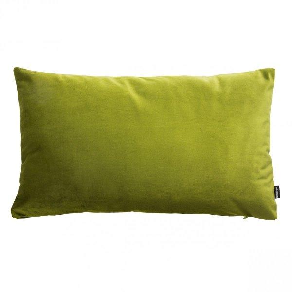 Velvet zielona poduszka dekoracyjna 50x30