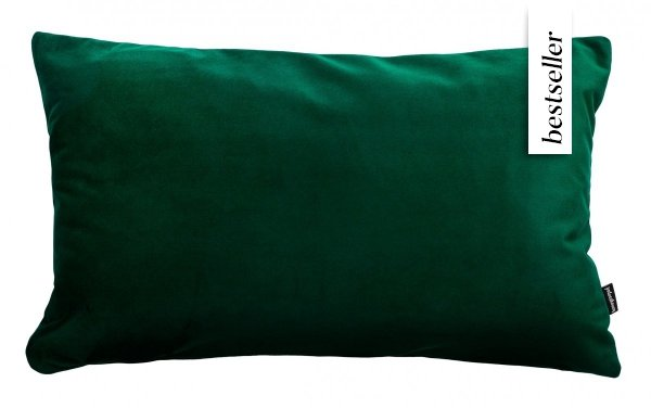 Velvet ciemno poduszka dekoracyjna 50x30 cm