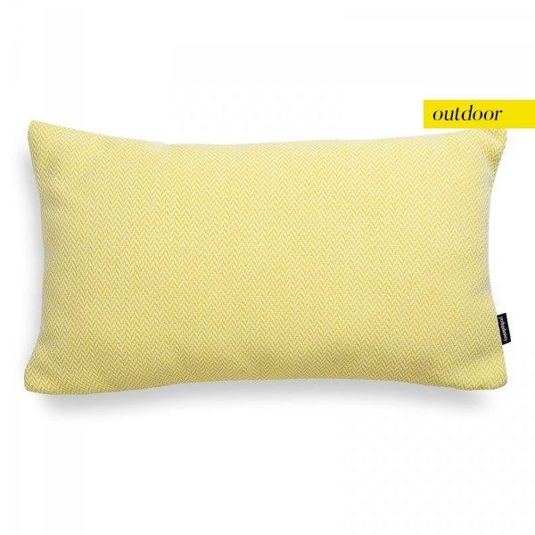Żółta poduszka ogrodowa Malmo 50x30