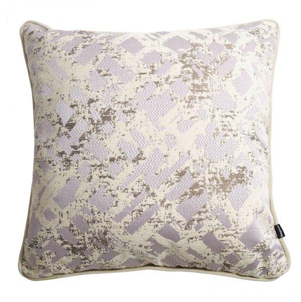 Lila poduszka dekoracyjna Glow 45x45