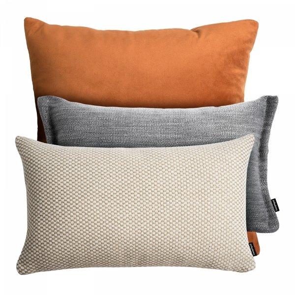 Rudy zestaw poduszek dekoracyjnych Fitto + Ori