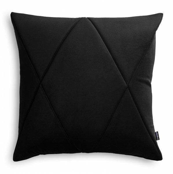 Touch poduszka dekoracyjna czarna 45x45 MOODI