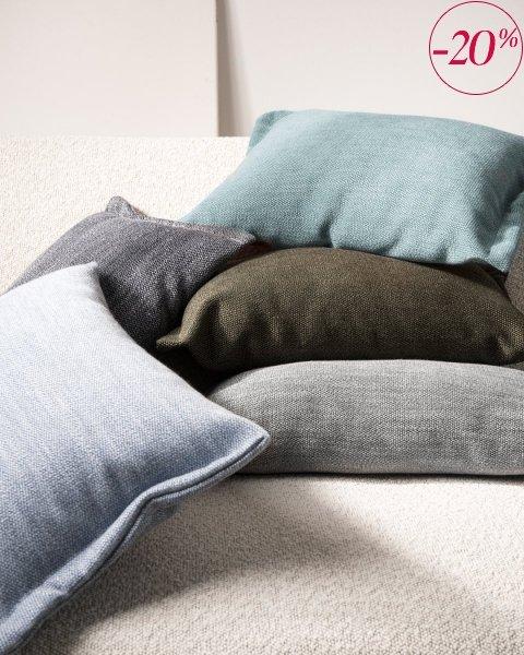 Fitto poduszka dekoracyjna 50x30 cm. miętowa