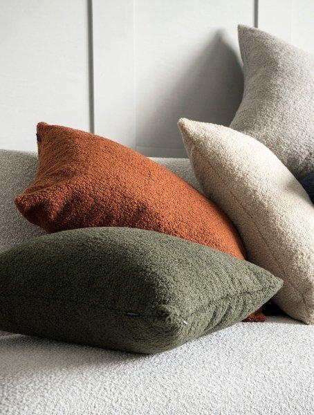 Cozy ruda poduszka dekoracyjna 60x40