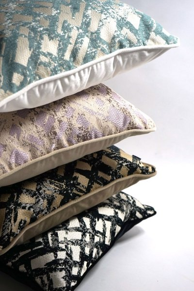 Zestaw poduszek dekoracyjnych Glow+Velvet