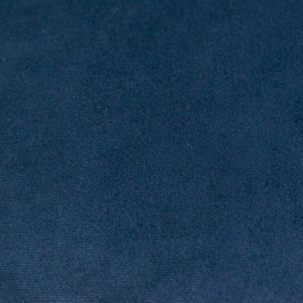 Pram granatowa welurowa poduszka dekoracyjna 45x45 cm
