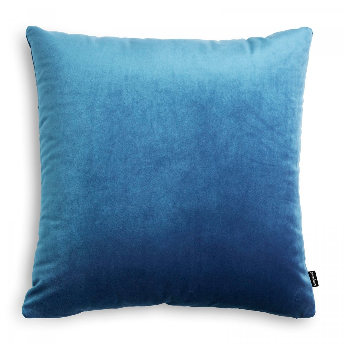 Velvet jasno niebieska poduszka dekoracyjna 45x45