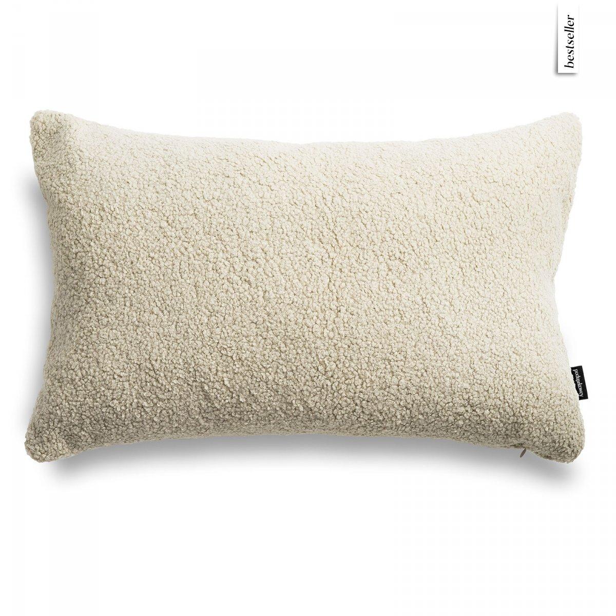 Cozy beżowa poduszka dekoracyjna 60x40