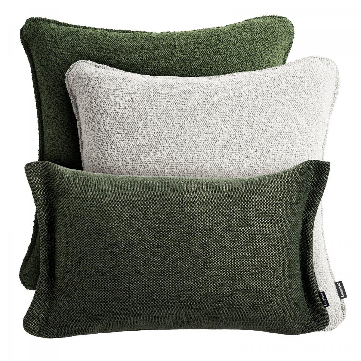 Zielony zestaw poduszek dekoracyjnych Copenhaga + Fitto