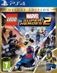 LEGO MARVEL SUPER HEROES 2 DELUXE EDITION PS4 PL DUBBING + FIGURKA