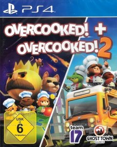 OVERCOOKED ANG + OVERCOOKED 2 PL PS4