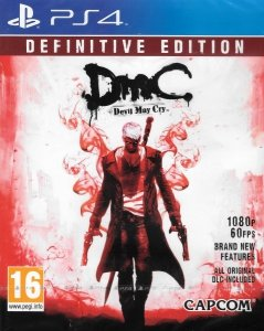 DMC DEVIL MAY CRY DEFINITIVE EDITION PS4 PL