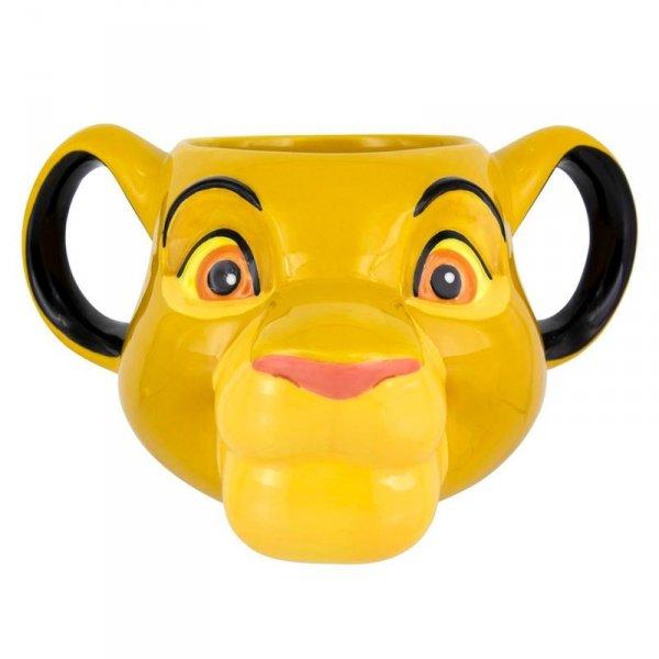 KUBEK 3D SIMBA KRÓL LEW DISNEY LION KING