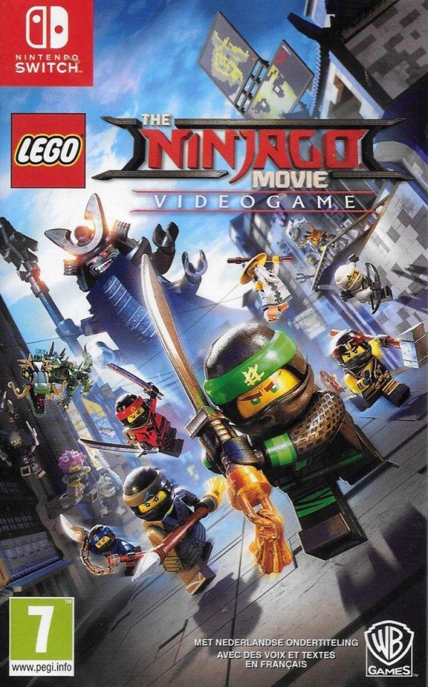 LEGO NINJAGO MOVIE VIDEOGAME NINTENDO SWITCH PL DUBBING