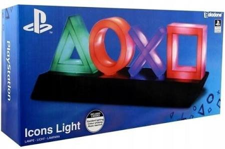 LAMPKA PLAYSTATION ICONS LAMPA LIGHT