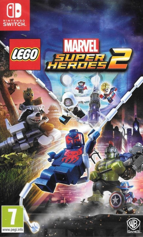 LEGO MARVEL SUPER HEROES 2 NINTENDO SWITCH PL DUBBING