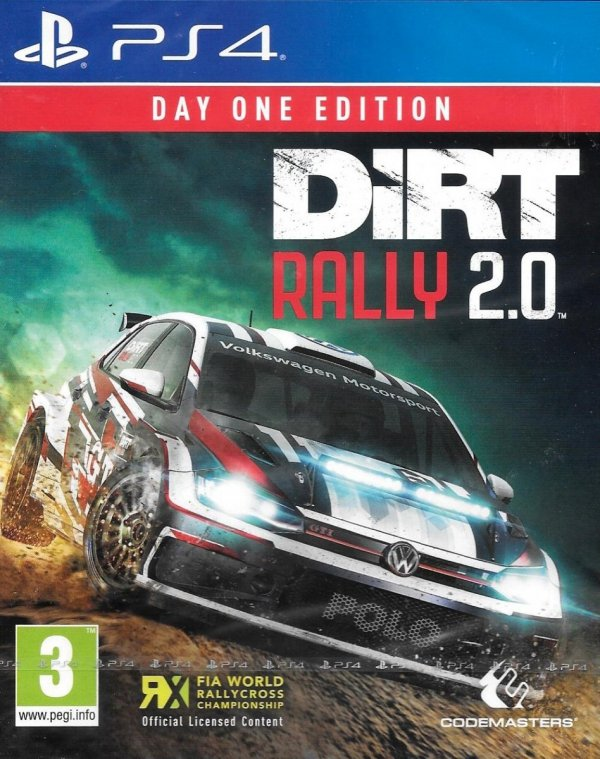 DIRT RALLY 2.0 PS4 PL DUBBING