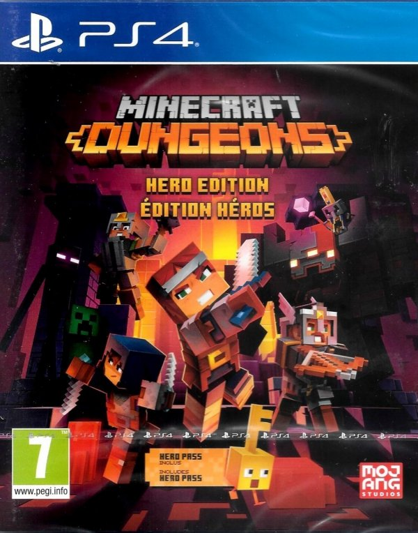 MINECRAFT DUNGEONS HERO EDITION PS4 PL