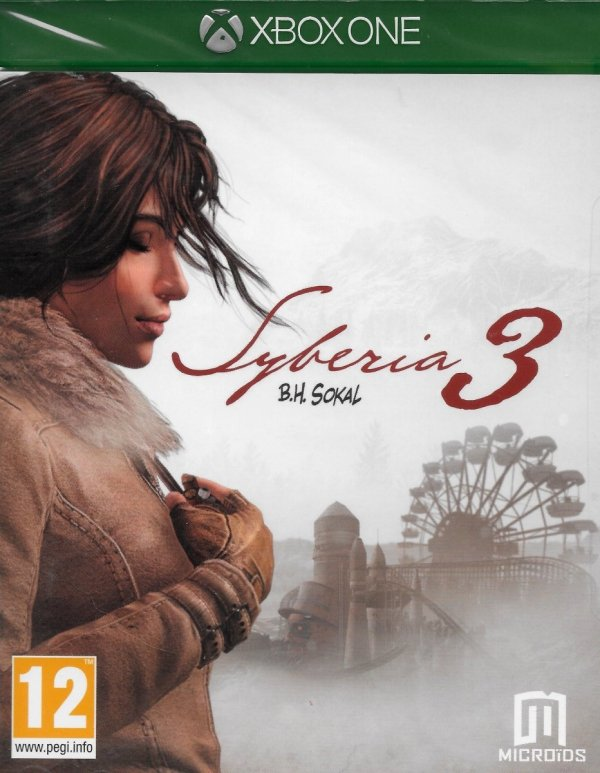 SYBERIA 3 XBOX ONE PL OUTLET