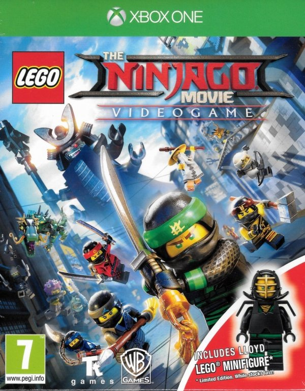 LEGO NINJAGO MOVIE VIDEOGAME XBOX ONE + FIGURKA PL DUBBING