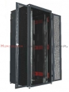 MMC Szafa RACK Serwer 19 stojąca 42U 800x1000, 1000kg, drzwi dwuskrzydłowe perforowane, czarna