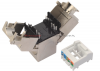 SOLARIX MultiPack 24x keyston kat.6A 10G FTP, beznarzędziowy