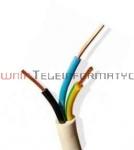 Kabel elektryczny drut 3x1,5mm YDY okrągły