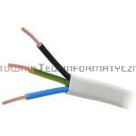 Kabel elektryczny drut 3x2,5mm YDYp płaski