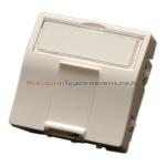 MMC Adapter skośny 45x45 mm do modułów keyston 1xRJ45