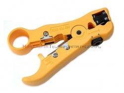 Multi ściągacz izolacji - stripper - do kabli UTP i RG, HT-352