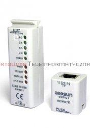 E-SUN EM2421 tester kabli RJ45