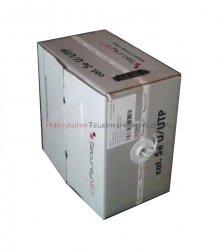 SecurityNET kabel U/UTP kat. 5e, drut, PVC szary (305m)