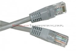 UTP Patch cord 5,0 m. Kat.5e szary