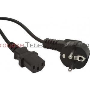 Kabel zasilający komputerowy z uziemieniem 230/C13 - 5m