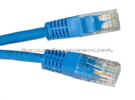 UTP Patch cord 1,0 m. Kat.6 niebieski
