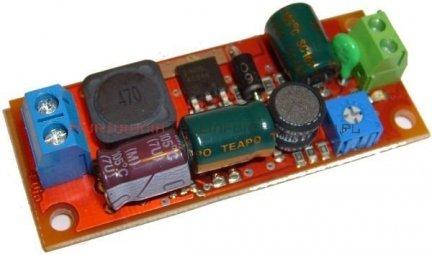 ATTE Moduł podnoszący napięcie dla jednej kamery 15W, Uwe=10-16V, regulowane Uwy=15-30V