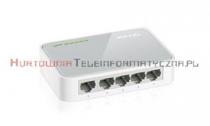 TP-LINK SF1005D Switch 5-Port Fast Ethernet, desktop