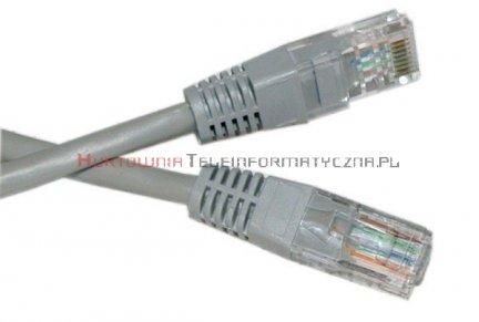UTP Patch cord 1,0 m. Kat.5e szary