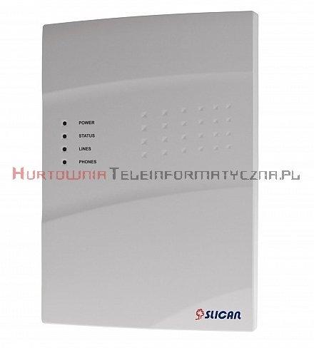 SLICAN centrala IPU-14.103 WM (6FXS, 8VoIP, 8REC, 24AbVoIP, 16TrVoIP)