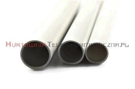 Rura elektroinstalacyjna sztywna PVC RL-47 biała, 3m