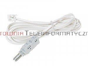 Kabel pomiarowy do złącz telefonicznych typu LSA/KRONE 2P, wtyk RJ11 (do łączówki nierozłacznej)
