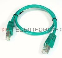 FTP Patch cord 2,0 m. Kat.5e zielony