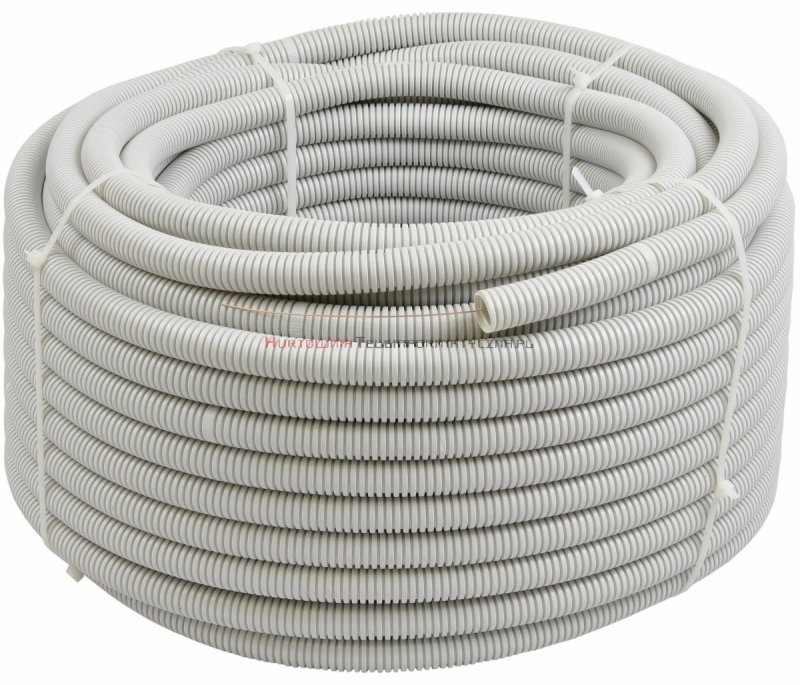 Rura elektroinstalacyjna karbowana PVC  UV, 320N 25/19 mm, pilot (25m)