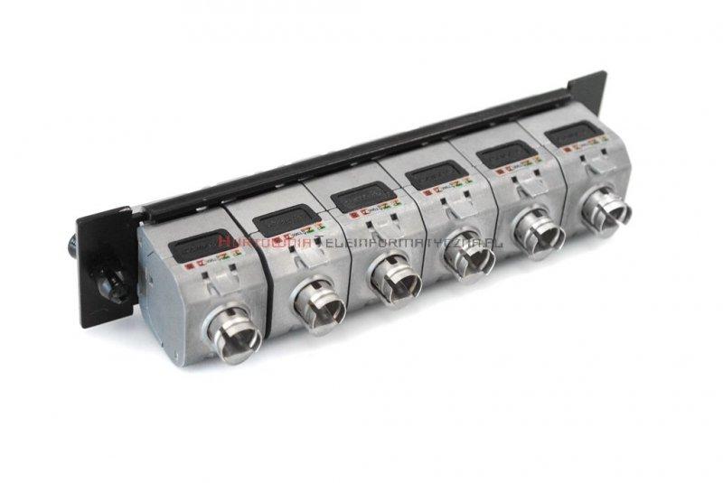 LogiWire Moduł niewyposażony 6 x keyston