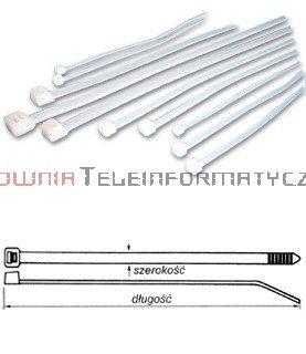 Opaska kablowa 3,6x300 (100szt)