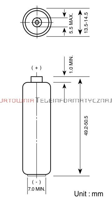 GP SUPER Bateria alkaliczna 1,5V AA LR6 (blister - 8 szt.)