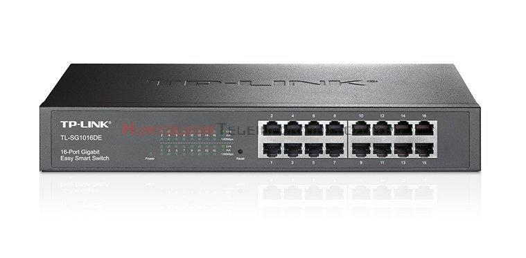 """TP-LINK SG1016D Switch 16-port Gigabit Ethernet, desktop, RACK 19"""""""