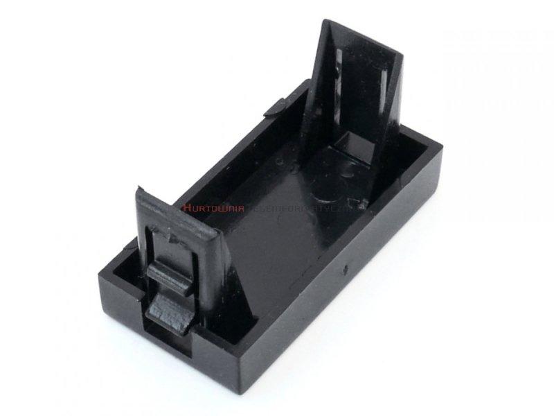 Zaślepka MOSAIC 45x22.5, 1 modułowa, czarna