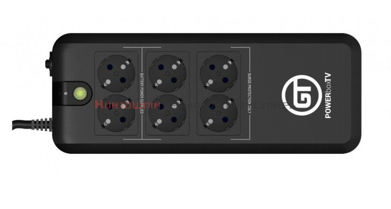 GT UPS PowerBox TV 600VA/300W